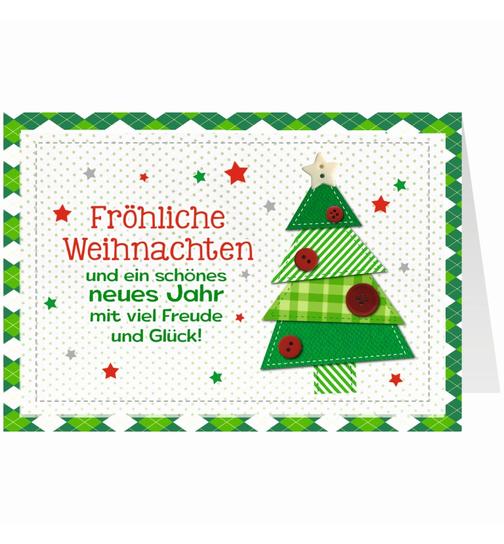 Weihnachtsgrüße Als Tannenbaum.Knopfkarte Für Weihnachtsgrüße X Mas Fröhliche Weihnachten Tann