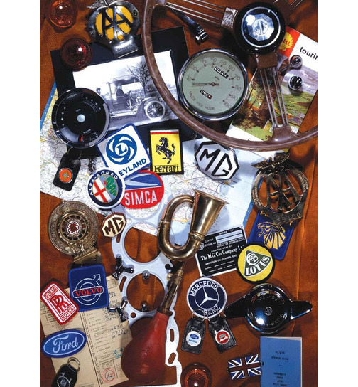 Car Collectables - Auto Logos - Puzzle 1000 Teile