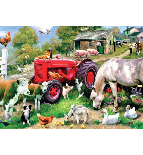 Meadow Farm - Farmleben - Puzzle 1000 Teile