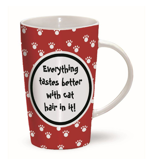 Katzenhaare - Cat Hairs - Mug - Becher - Latte