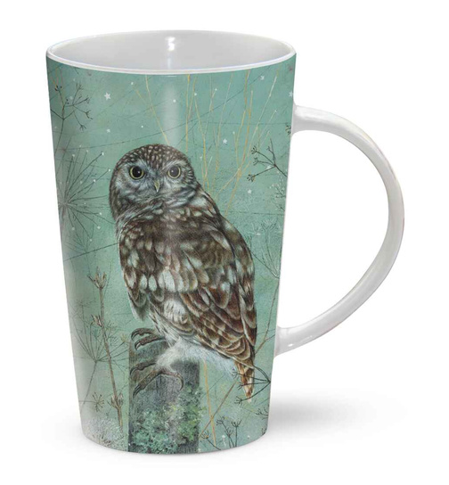 Littel Owl - Look Out - Kleine Eule - Mug - Becher - Latte