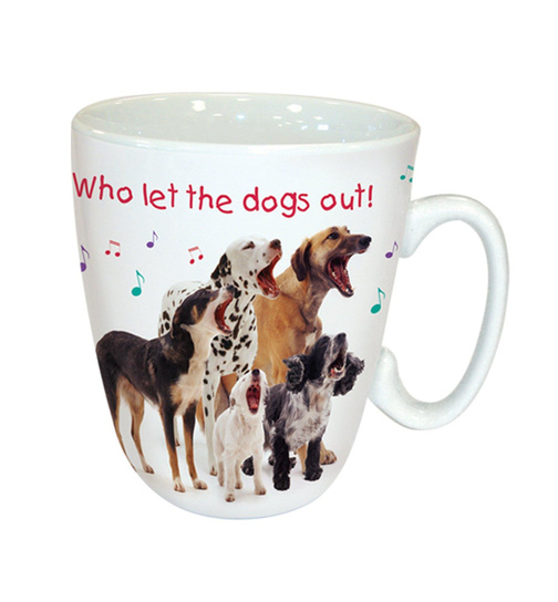 Who let the Dogs out? - Hunderudel - Kaffeebecher - Standard Mug