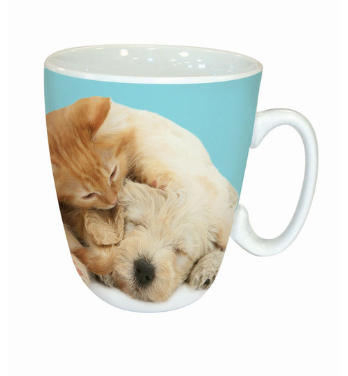 Puppy & Ginger - Wake Up! - Kaffeebecher - Standard Mug