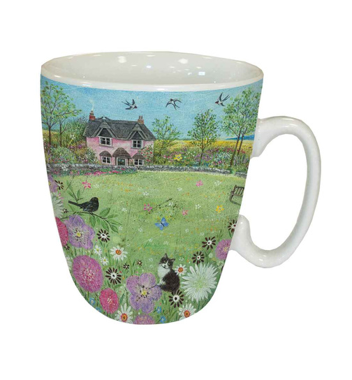 Country Cottage - Country Lanes - Kaffeebecher - Standard Mug