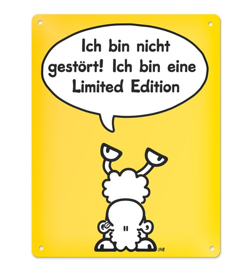 Blechschild - Limited Edition - 05