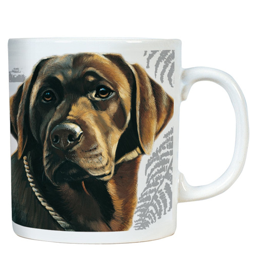 Chocolate Labrador - Mugs - Becher - Chopes