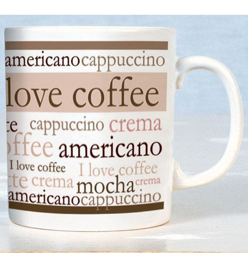 I Love Coffee - Mugs - Becher - Chopes