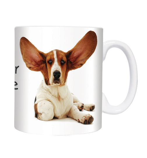 Big Ears - Basset -  Mugs - Becher - Chopes