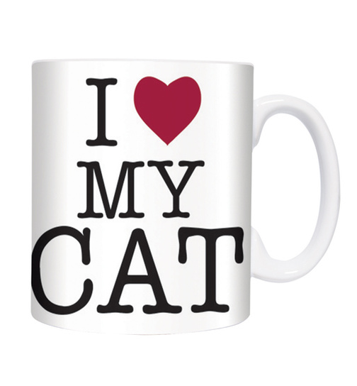 I Love My Cat - Mugs - Becher - Chopes