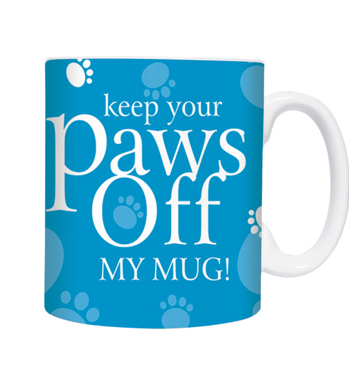Paws Off! - Türkis - Mugs - Becher - Chopes