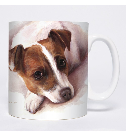 Watercolour Jack Russell Terrier Mugs - Becher - Chopes