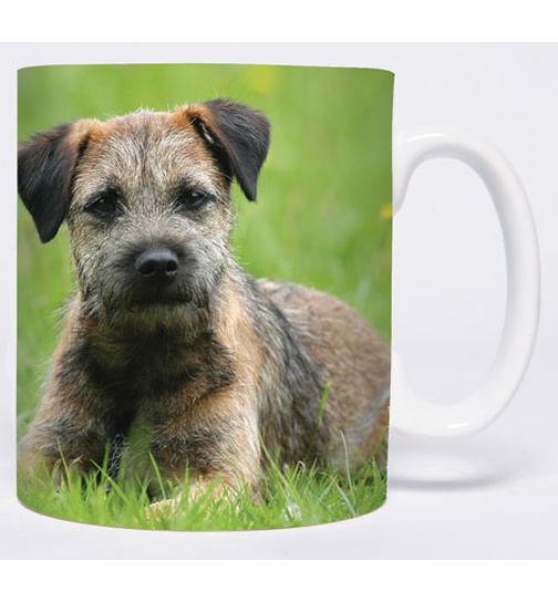 In The Meadow - Border Terrier - Mug - Becher - Chopes