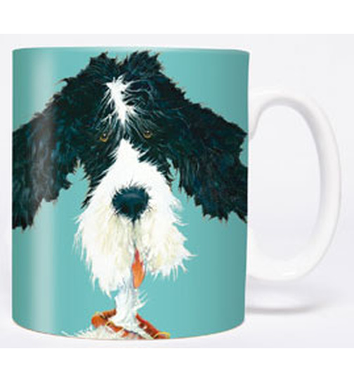 Comic Hund - Barney - Mug - Becher - Chopes