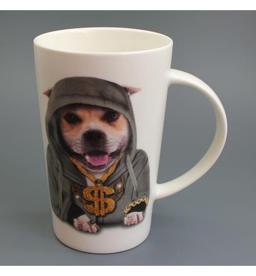 Bling - Staffordshire Terrier - Mug - Becher - Latte