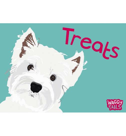 West Highland Terrier - Waggy Tails - Standard Futtermatte