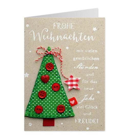 Weihnachtsgrüße Als Tannenbaum.Knopfkarte Für Weihnachtsgrüße Tannenbaum 51 Dog Toy De Der O