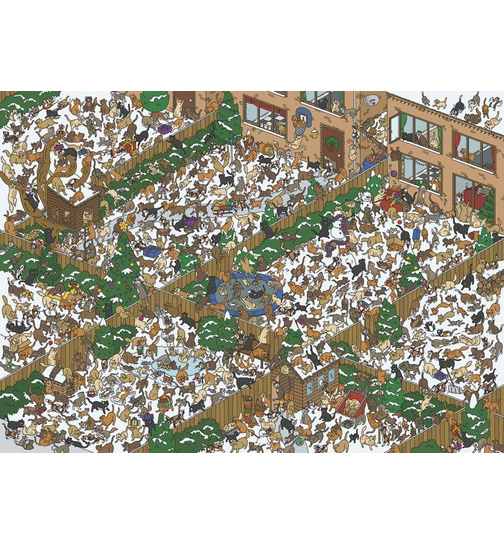 Find Freddy and Friends - Cats -  Puzzle 1000 Teile